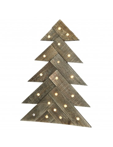 LED Sapin en bois IGU4101014Lumineo