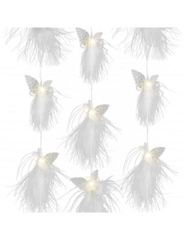 Guirlande LED ailes ange duvet IGU4101024Lumineo
