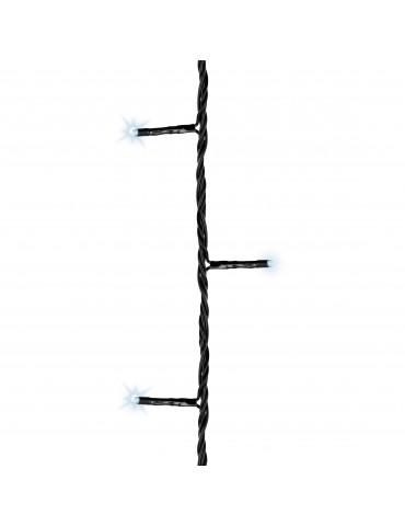 LED guirlande clignotante extérieur blanc froid 21m câble noir IGU4101060Lumineo