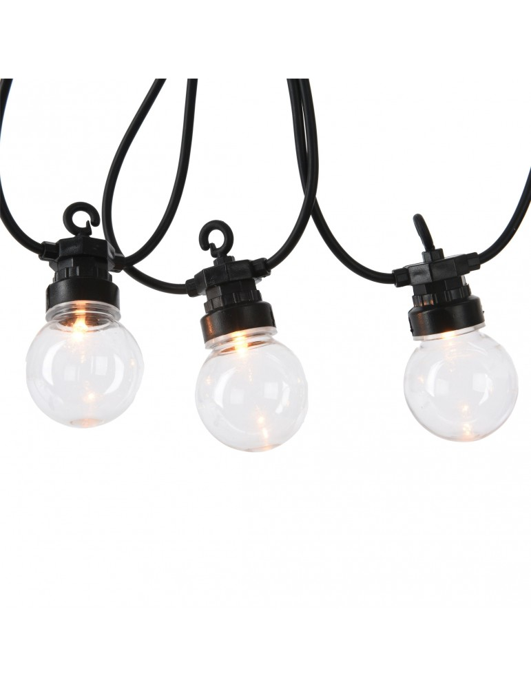 Guirlande LED 20 ampoules blanches IGU4101051Lumineo
