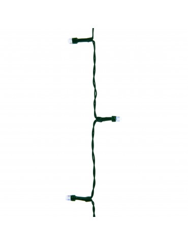 LED guirlande clignotante extérieur blanc froid 24,9m câble vert IGU4101054Lumineo