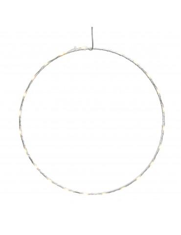 Micro LED cadre rond extérieur diamètre 75cm blanc chaud IGU4101083Lumineo