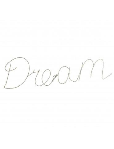 "Micro LED cadre ""DREAM"" extérieur blanc chaud IGU4101081Lumineo"