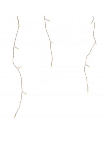 LED guirlande clignotante stalactites extérieur blanc chaud 11,5m IGU4101077Lumineo