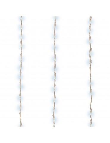 LED guirlande clignotante rideau extérieur blanc froid 4m x 1m IGU4101072Lumineo