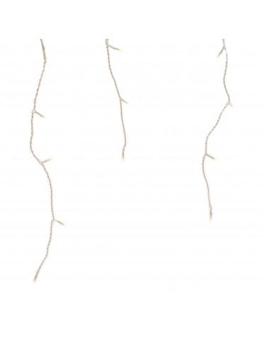 LED guirlande clignotante stalactites extérieur blanc chaud 24m IGU4101075Lumineo