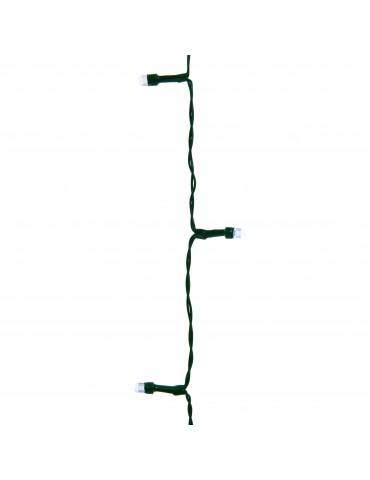 LED guirlande clignotante extérieur blanc froid 14,9m câble vert IGU4101053