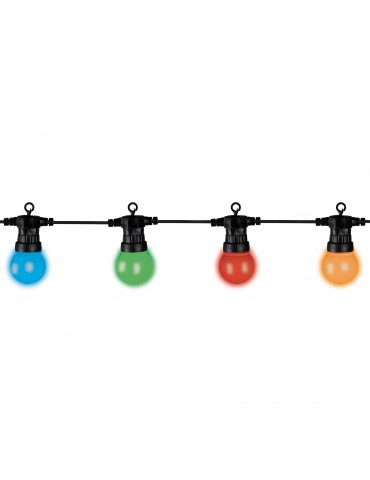 Guirlande LED 20 ampoules couleur IGU4101052Lumineo