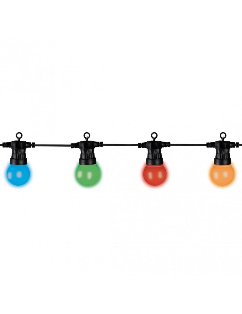 Guirlande LED 20 ampoules couleur IGU4101052Lumineo