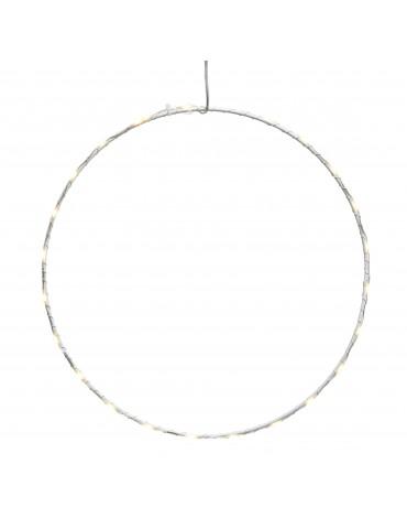 Micro LED cadre rond extérieur D50cm blanc chaud IGU4101082Lumineo