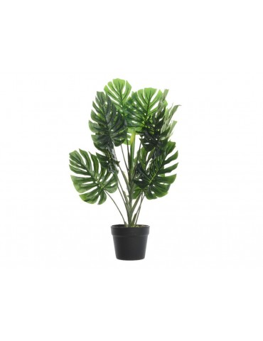 Plante artificielle monstera pot noir PLANTS DAA3889001Decoris