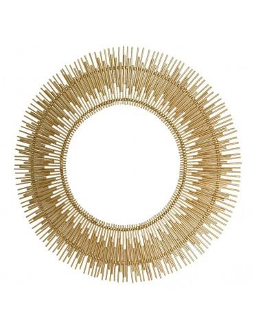 Miroir soleil en saule tressé d.113cm DMI4248046Decoris