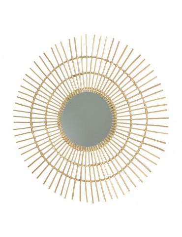 Miroir soleil en saule d.110cm DMI4248048Decoris