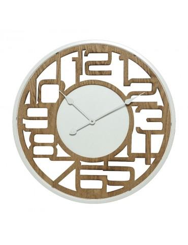 Horloge murale en bois ajouré d.63cm DHO4248100Decoris