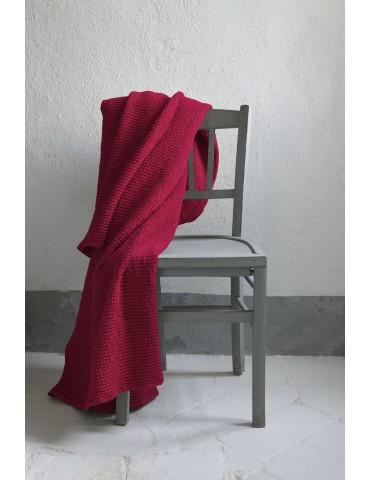 Plaid Stonewashed Maia Pink 140 X 200 1307465000Vivaraise