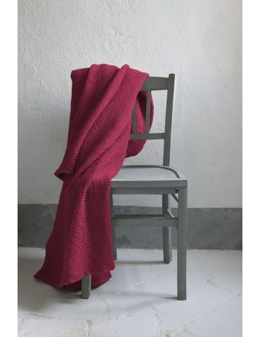 Jeté Stonewashed Maia Pink 180 X 260 1307466000Vivaraise