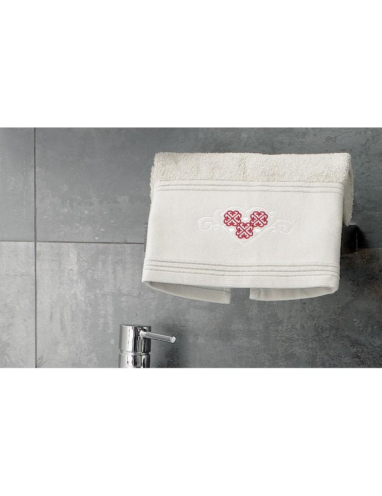 Serviette de toilette Cosy Naturel 50 x 90 3779380601Les Ateliers du Linge