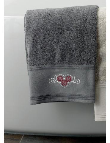 Drap de bain Cosy Ombre 80 x 150 3779570601Les Ateliers du Linge