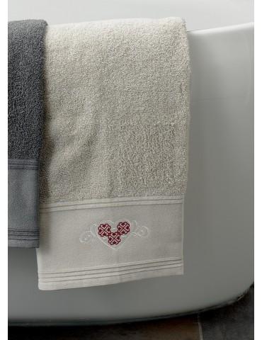 Drap de bain Cosy Naturel 80 x 150 3779580601Les Ateliers du Linge