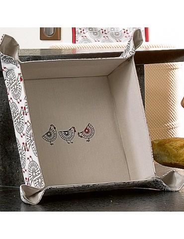 Corbeille à pain Ginger Rouge 20 x 20 x 7 7954036000Les Ateliers du Linge