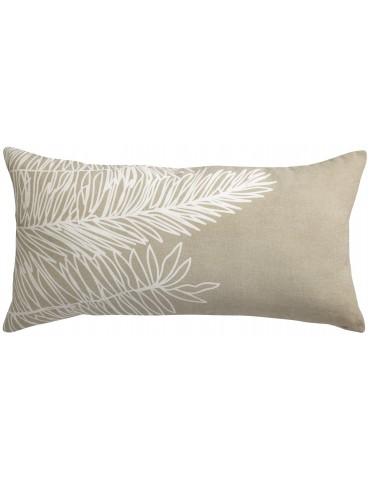 Coussin Stonewashed Zeff Palm Craie 55 x 110 2410015000Vivaraise