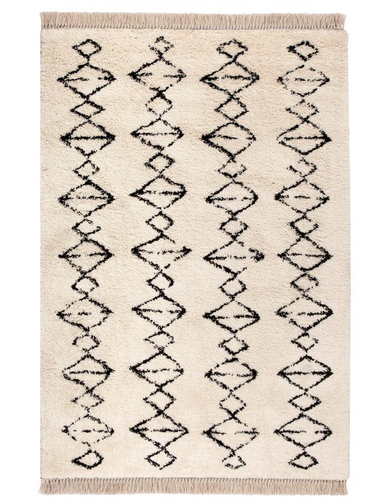 Tapis Zagora Neige 160 x 230 6054015000Vivaraise