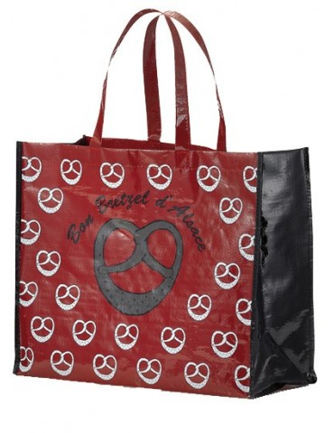 Grand Sac Shopping Bretzel Rouge 36 x 44 8483036000Winkler