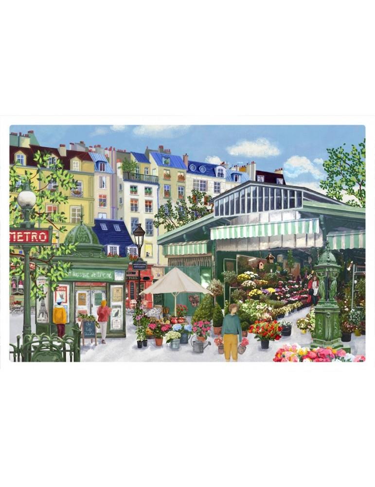 Set de table Marche aux fleurs Assortis 30 x 45 5283090000Winkler