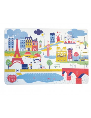 Set de table Balade à Paris Assortis 30 x 45 6589050000Winkler