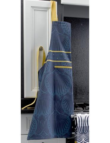 Tablier de cuisine Palace Bleu 80 x 85 5636060000Les Ateliers du Linge