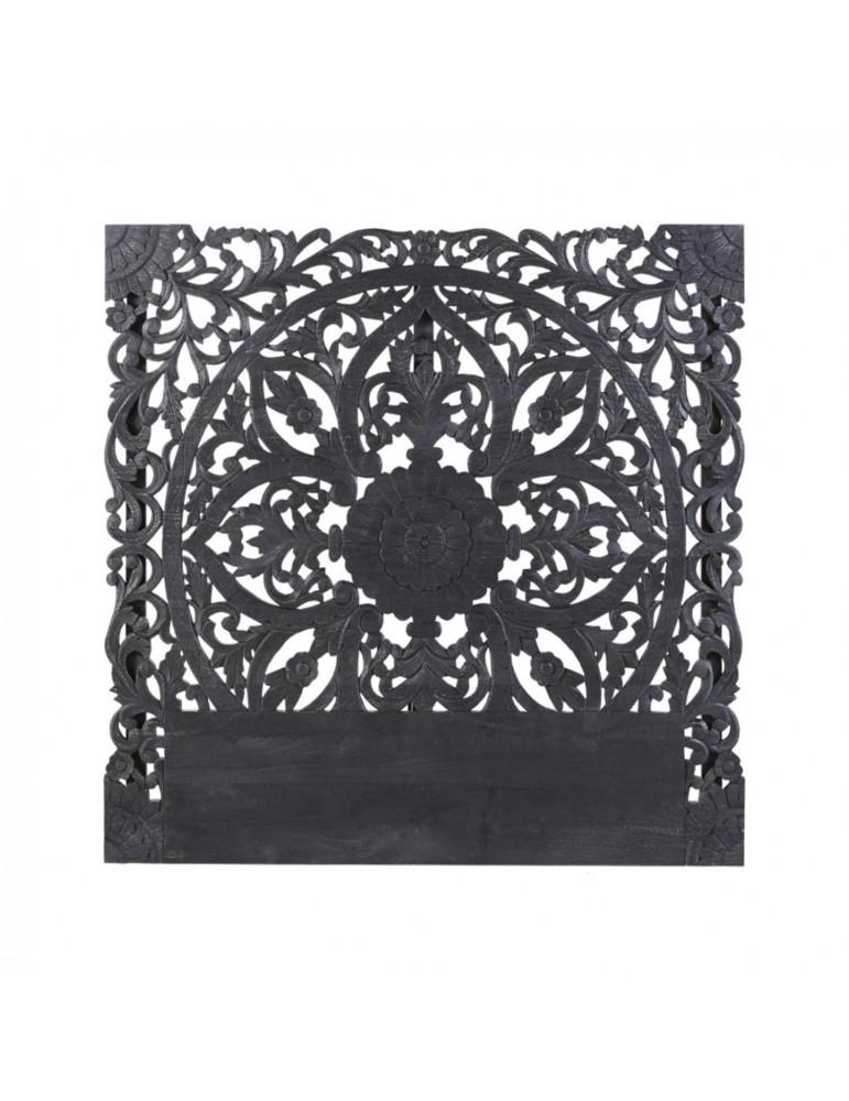 Tête de lit Serena 140cm Bois Noir g2236140black