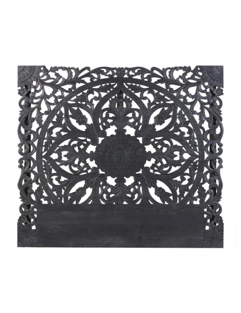 Tête de lit Serena 160cm Bois Noir g2236160black