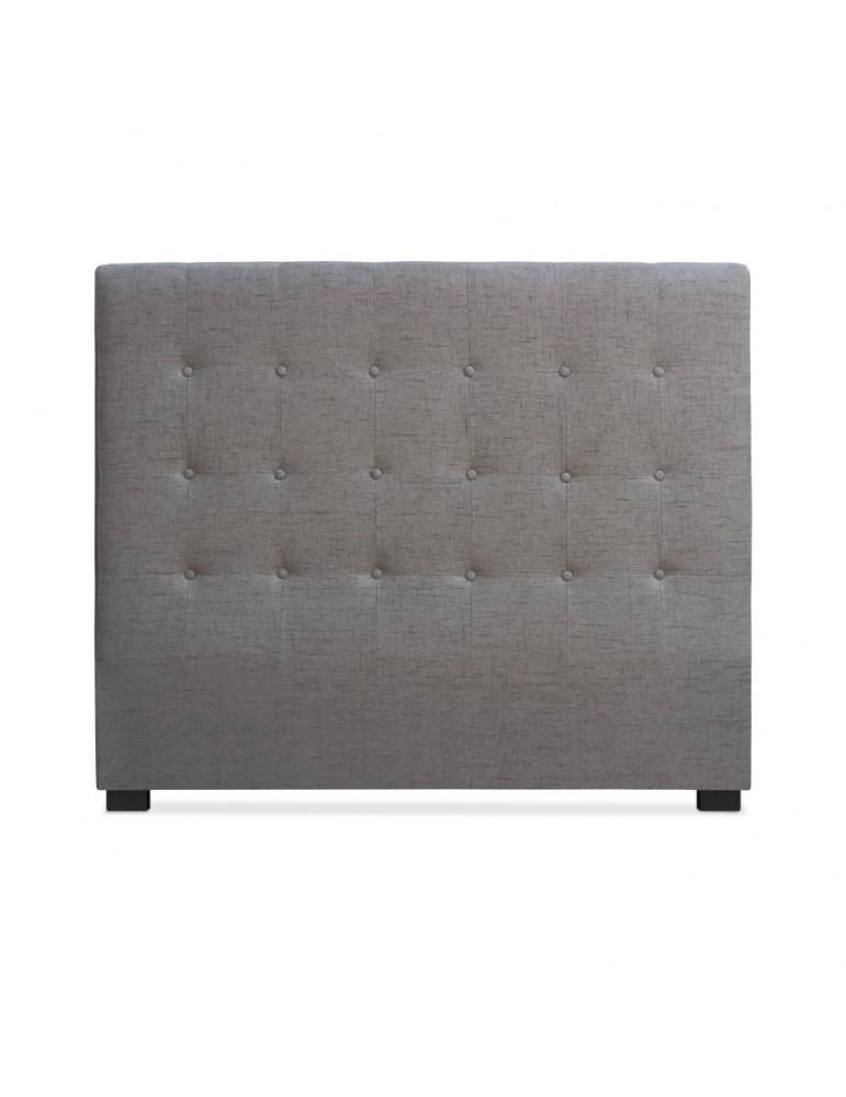 Tête de lit Luxor 140cm Tissu Taupe lf155hvb121140taupe