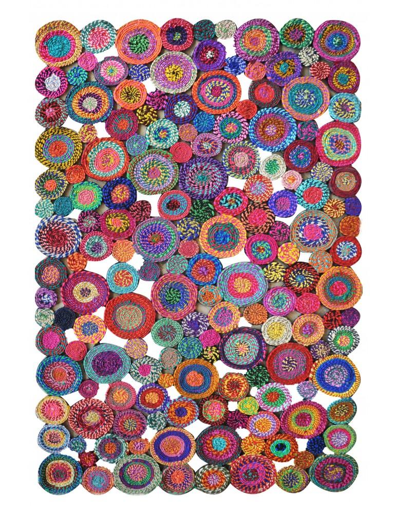 Tapis Bilbao Multicolore 160 x 230 4743090000The Rug Republic