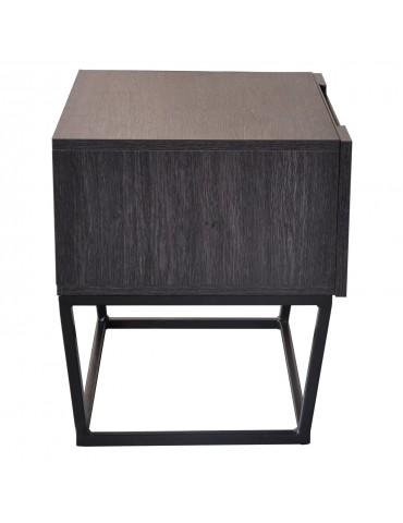 Table de chevet Logam 1 tiroir Vintage ks3212vintage