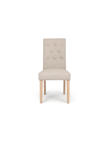 Lot de 2 chaises Costel Tissu Beige hy901rtissubeige