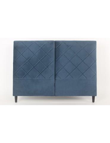 Tête de lit Apolline 160cm Velours Bleu LF273160velvetblue