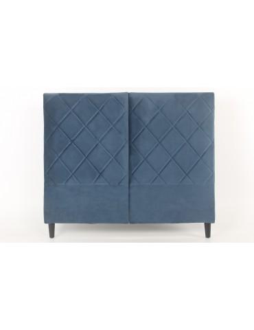 Tête de lit Apolline 140cm Velours Bleu LF273140velvetblue