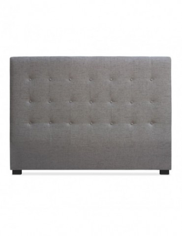 Tête de lit Luxor 160cm Tissu Taupe lf155hvb121160taupe