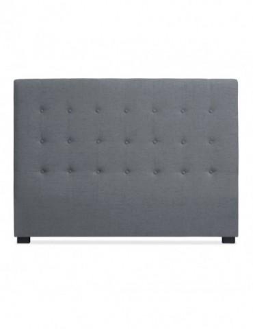 Tête de lit Luxor 160cm Tissu Gris lf155hvb121160gris