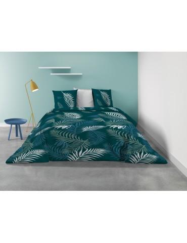 Parure de lit 2 personnes Fonka avec housse de couette et taies d'oreiller Imprimé 260 X 240 7197000503Les Ateliers du Linge