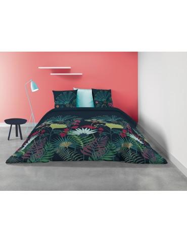 Parure de lit 2 personnes Utopia avec housse de couette et taies d'oreiller Imprimé 260 X 240 7248000503Les Ateliers du Linge