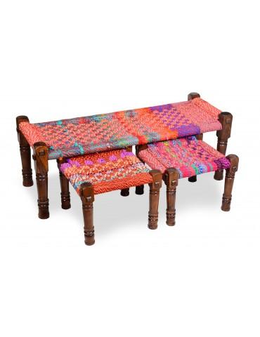 Banc Madura Tissu Multicolore shy13