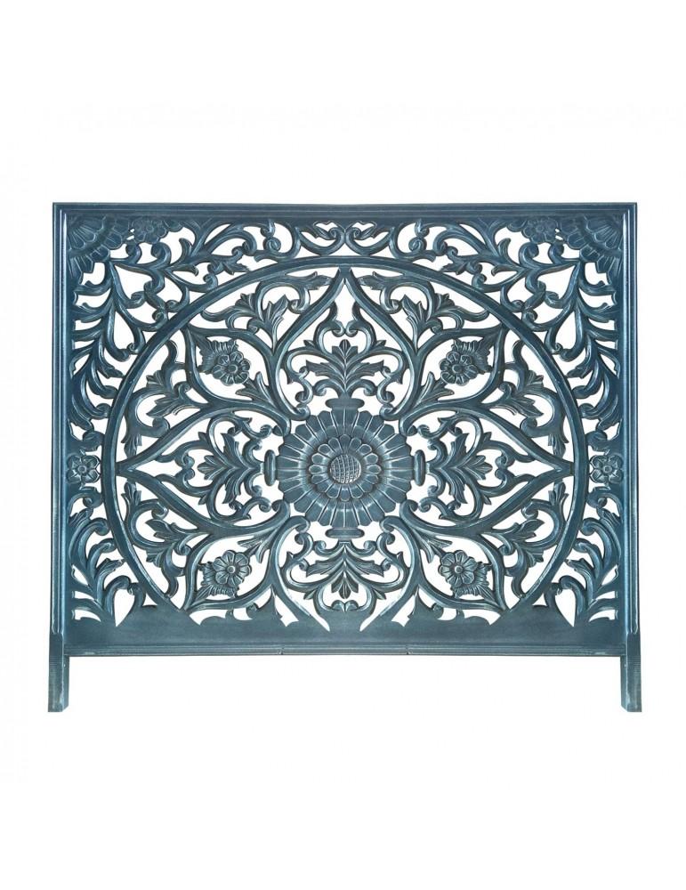 Tête de lit Menara 160cm Bois Bleu ma160boisblue