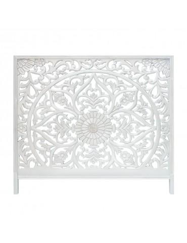Tête de lit Menara 160cm Bois Blanc ma160boiswhite