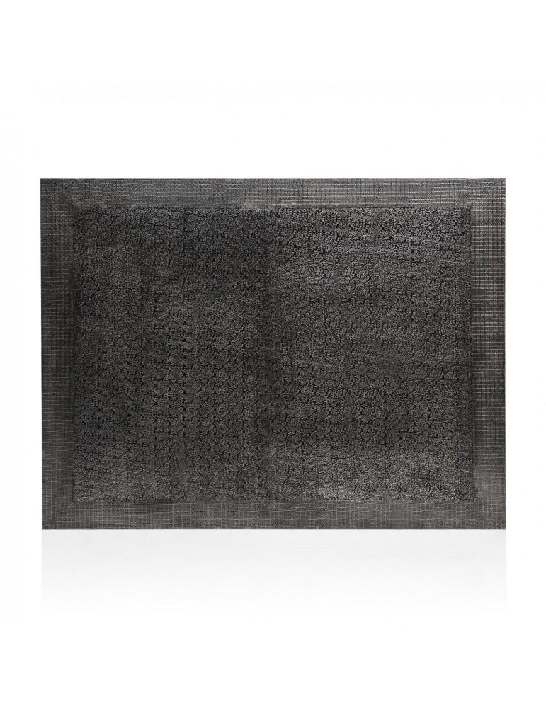 Tête de lit Reverie 160cm Effet Métal Noir g41063black160
