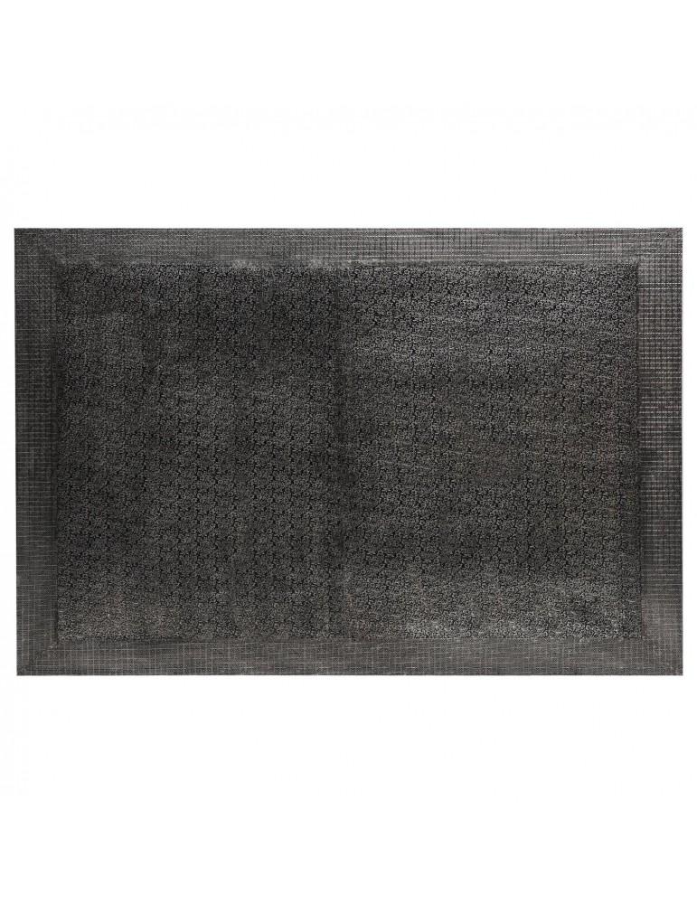 Tête de lit Reverie 180cm Effet Métal Noir g41063black180