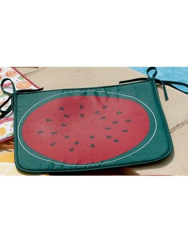 Galette de chaise Frutti Rouge 38 x 38 x 2 cm 5890190000Les Ateliers du Linge