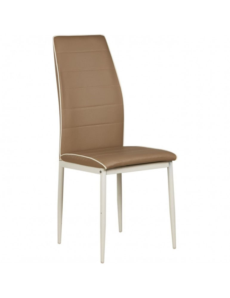 Chaise design duncan taupe 11431TA