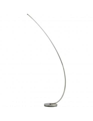 lampadaire en metal led takio aluminium 26237AL
